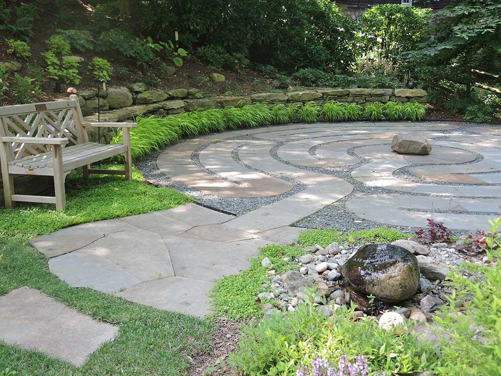 Labyrinth Plantings